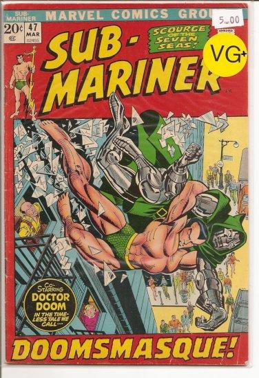 Sub-Mariner # 47, 4.5 VG +