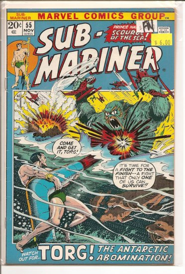 Sub-Mariner # 55, 6.0 FN