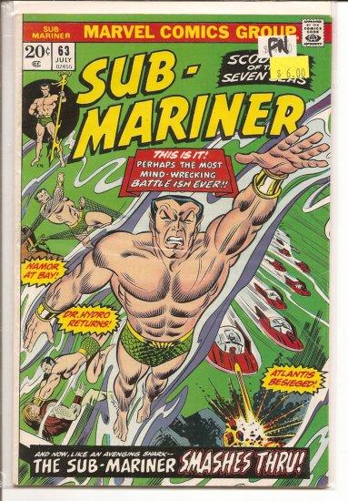 Sub-Mariner # 63, 6.0 FN