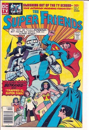 SUPER FRIENDS # 2, 4.5 VG +