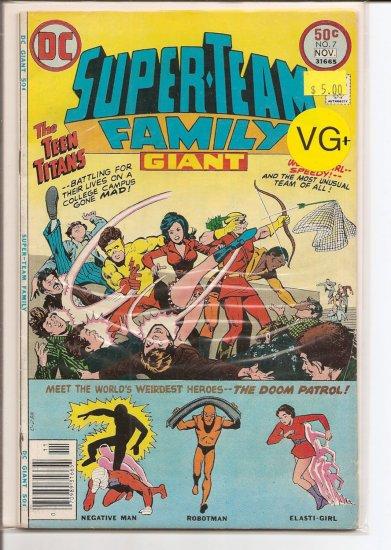 Super-Team Family # 7, 4.5 VG +