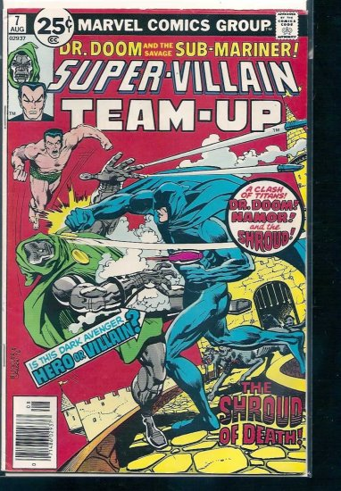 SUPER-VILLAIN TEAM-UP # 7, 4.0 VG