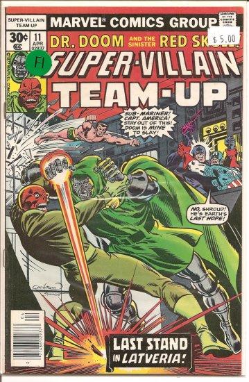 Super-Villain Team-Up # 11, 6.0 FN