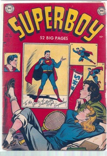 SUPERBOY # 6, 2.5 GD +