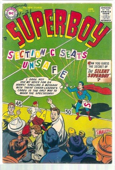 SUPERBOY # 54, 5.5 FN -