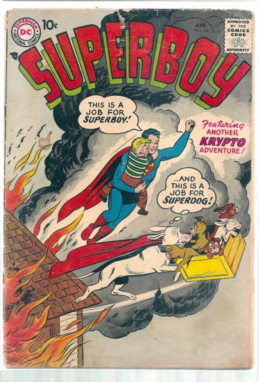 SUPERBOY # 56, 1.0 FR