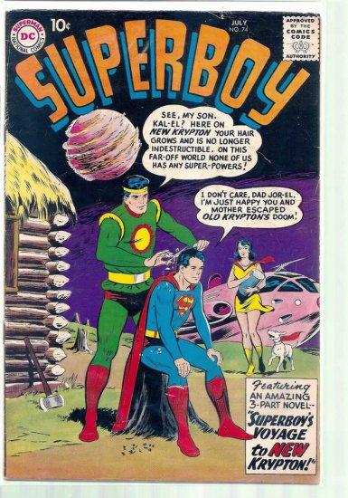 SUPERBOY # 74, 4.0 VG