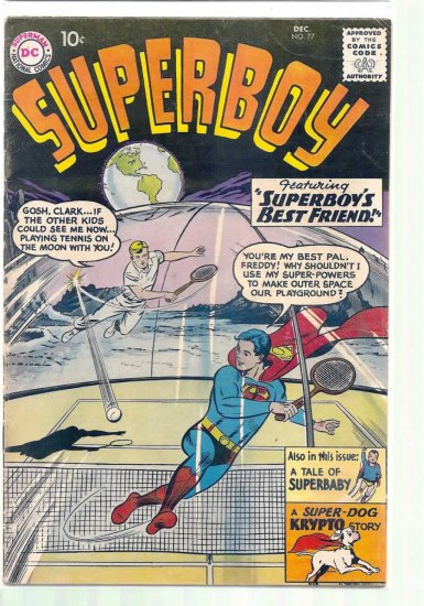 SUPERBOY # 77, 4.5 VG +