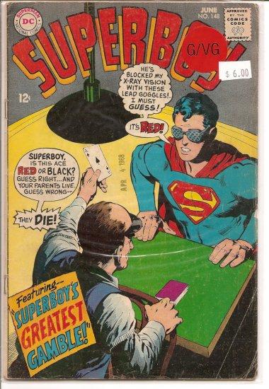 Superboy # 148, 3.0 GD/VG