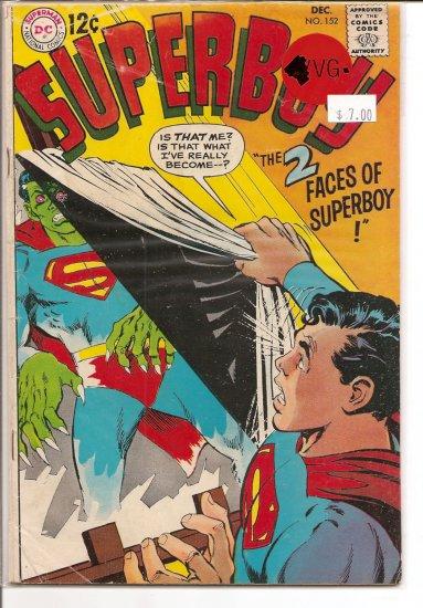 Superboy # 152, 3.5 VG -