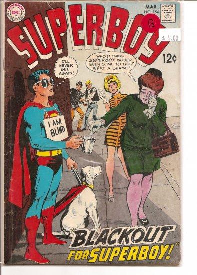 Superboy # 154, 2.0 GD