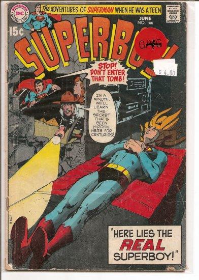 Superboy # 166, 2.5 GD +
