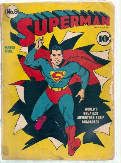 SUPERMAN # 9, 1.0 FR