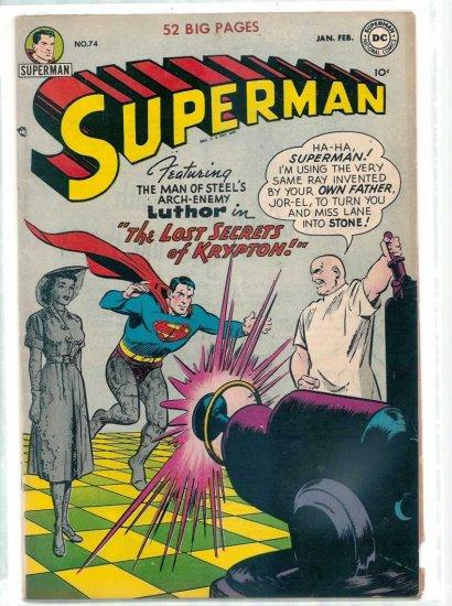 SUPERMAN # 74, 6.5 FN +