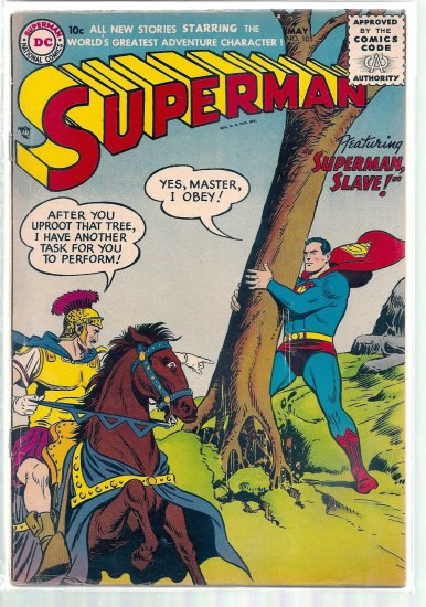 SUPERMAN # 105, 4.5 VG +