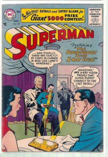 SUPERMAN # 109, 6.5 FN +