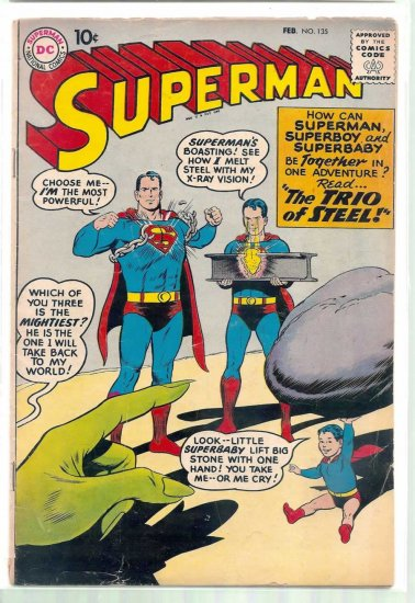 SUPERMAN # 135, 3.5 VG -