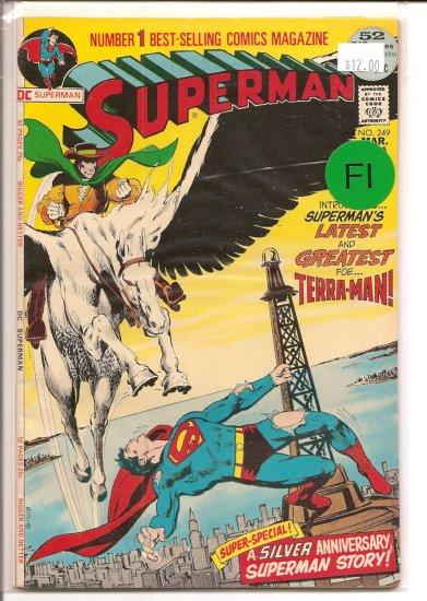 Superman # 249, 6.0 FN
