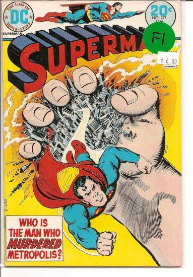 Superman # 271, 6.0 FN