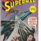 Superman # 282, 4.0 VG