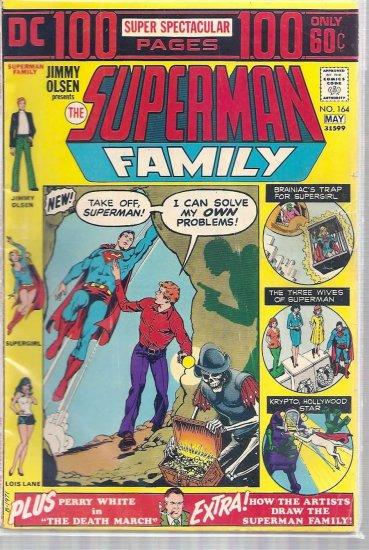 SUPERMAN FAMILY # 164, 4.0 VG