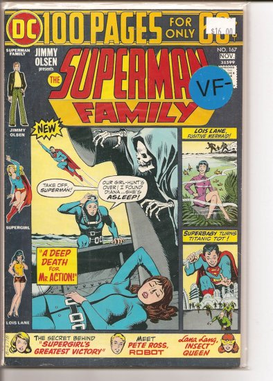 Superman Family # 167, 7.5 VF -