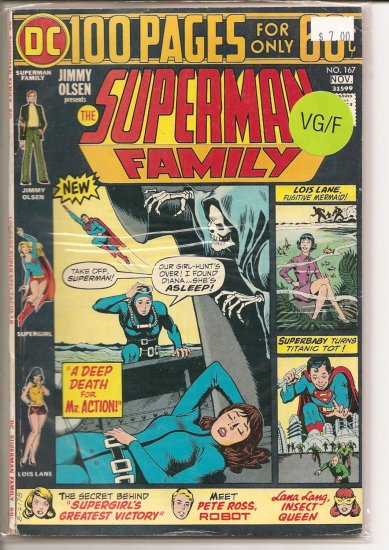 Superman Family # 167, 5.0 VG/FN