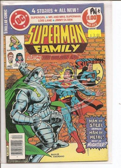 Superman Family # 217, 6.5 FN +