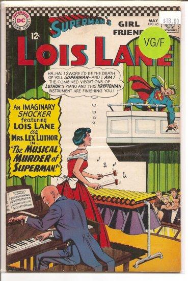 Superman's Girlfriend Lois Lane # 65, 5.0 VG/FN
