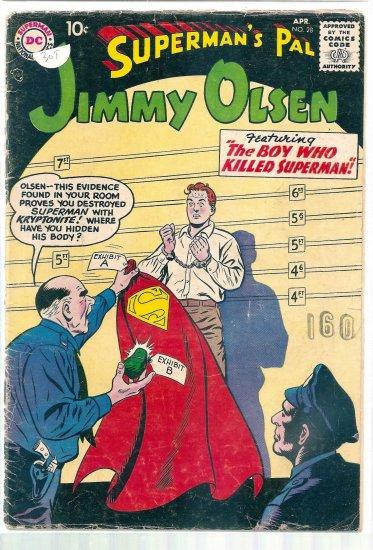 SUPERMAN'S PAL JIMMY OLSEN # 28, 2.0 GD