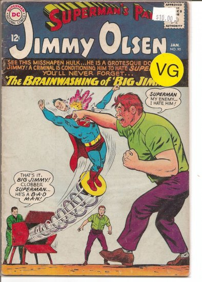 Superman's Pal Jimmy Olsen # 90, 4.0 VG