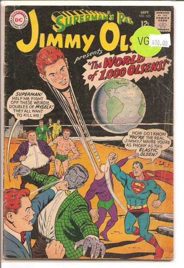 Superman's Pal Jimmy Olsen # 105, 4.0 VG