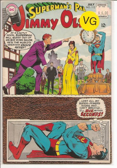 Superman's Pal Jimmy Olsen # 112, 4.0 VG