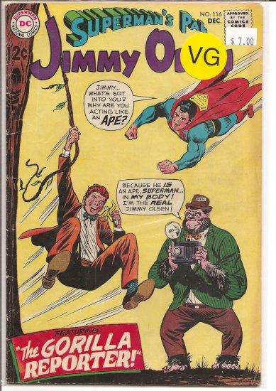 Superman's Pal Jimmy Olsen # 116, 4.0 VG