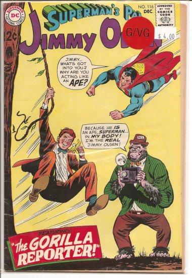 Superman's Pal Jimmy Olsen # 116, 3.0 GD/VG