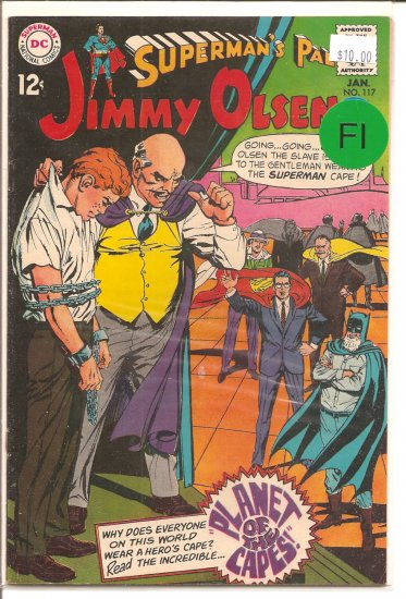 Superman's Pal Jimmy Olsen # 117, 6.0 FN