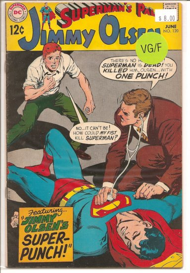 Superman's Pal Jimmy Olsen # 120, 5.0 VG/FN