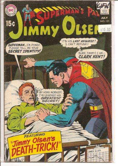 Superman's Pal Jimmy Olsen # 121, 5.0 VG/FN