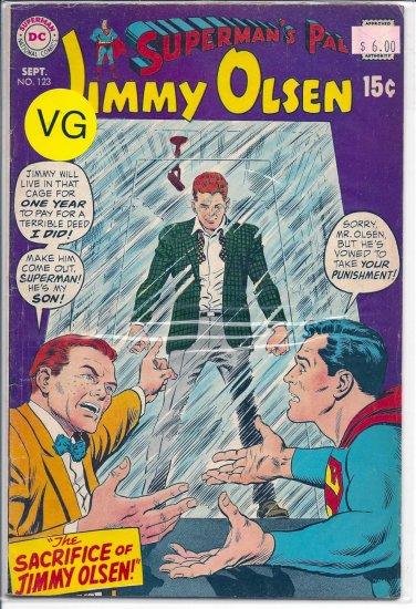 Superman's Pal Jimmy Olsen # 123, 4.0 VG