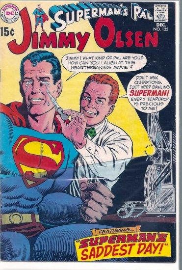 SUPERMAN'S PAL JIMMY OLSEN # 125, 4.5 VG +