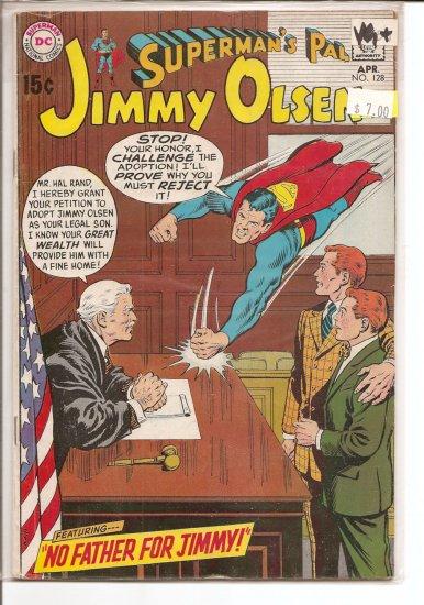 Superman's Pal Jimmy Olsen # 128, 4.5 VG +