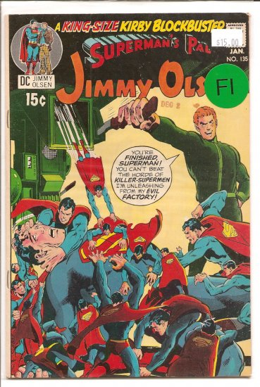 Superman's Pal Jimmy Olsen # 135, 6.0 FN
