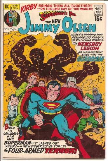 Superman's Pal Jimmy Olsen # 137, 8.0 VF