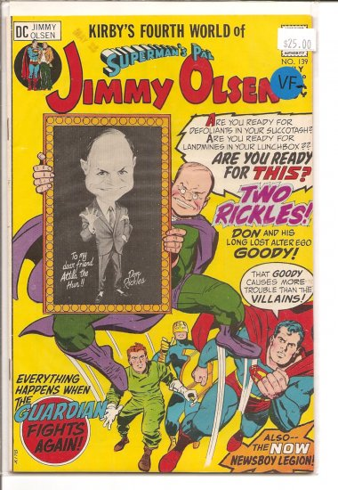 Superman's Pal Jimmy Olsen # 139, 7.5 VF -