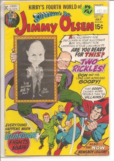 Superman's Pal Jimmy Olsen # 139, 5.0 VG/FN