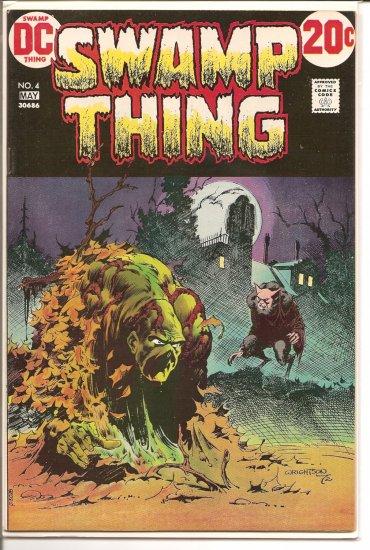 Swamp Thing # 4, 9.2 NM -