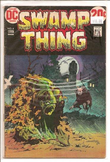 Swamp Thing # 4, 4.0 VG