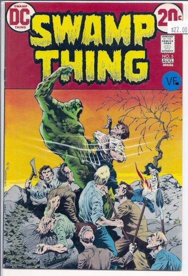 Swamp Thing # 5, 7.5 VF -