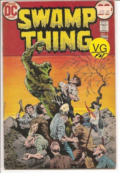 Swamp Thing # 5, 5.0 VG/FN