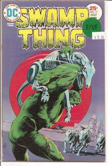 Swamp Thing # 17, 7.0 FN/VF